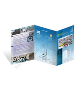 Cold Laminated Brochure