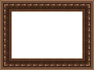 Photo Frame Brown Border