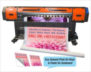 Vinyl Print On Sun board