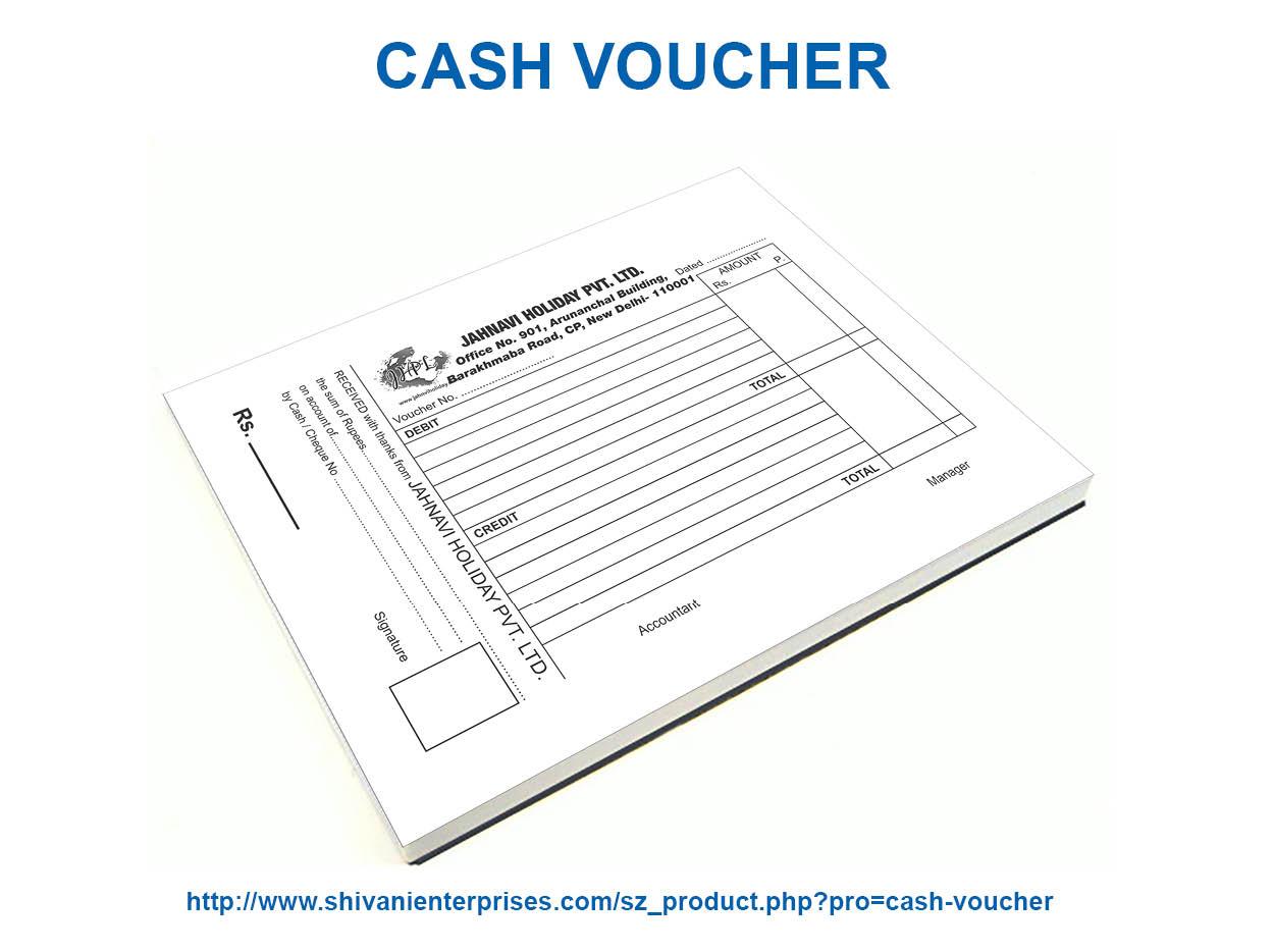Cash Voucher Printing