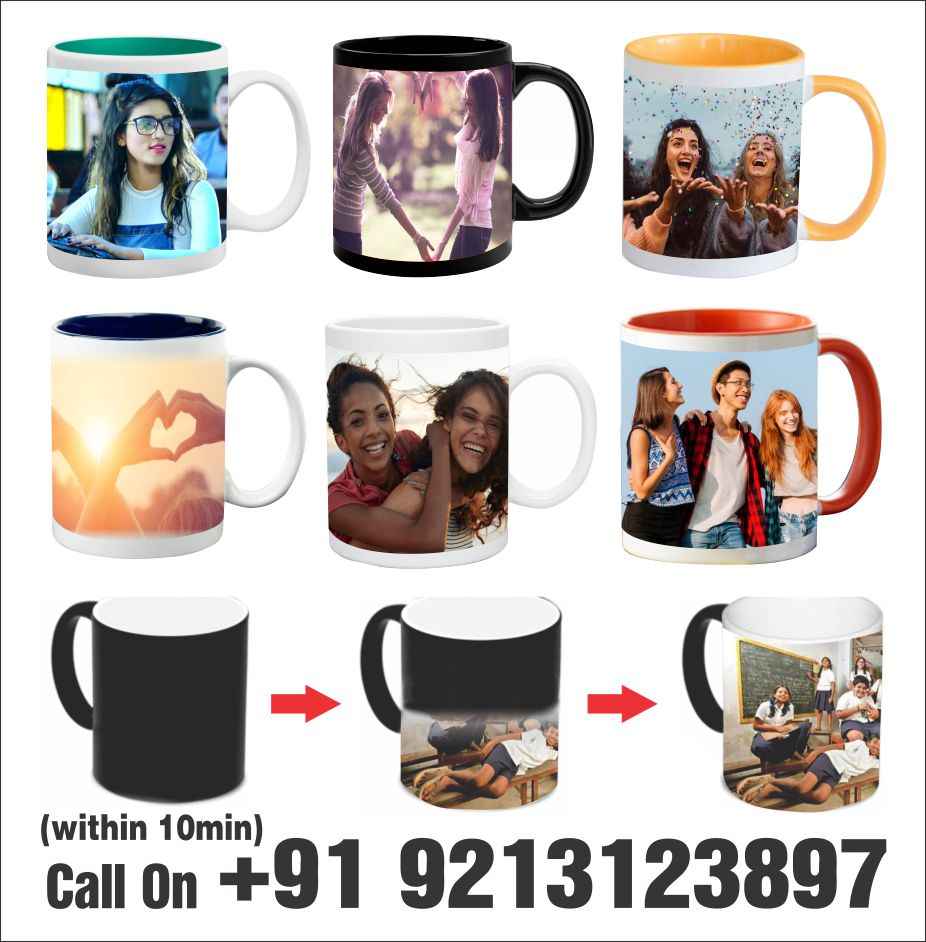 Photo Mug Printing in Munirka