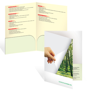 Thermal Laminated Docket Folder