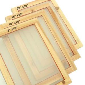 Screen Printing Frame Sizes