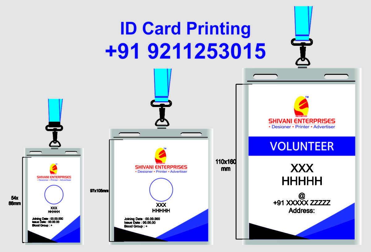 Corporate Identity Card Printing Munirka Delhi NCR India.