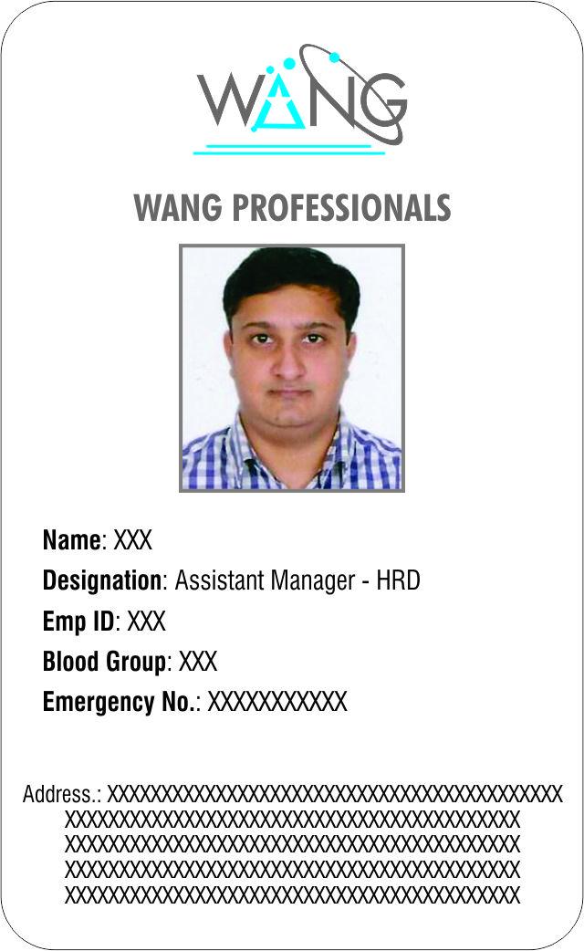 Corporate Identity Card Printing Munirka Delhi NCR India.
