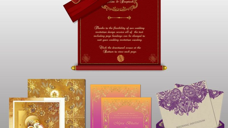 Wedding Invitation Card Printer in Munirka
