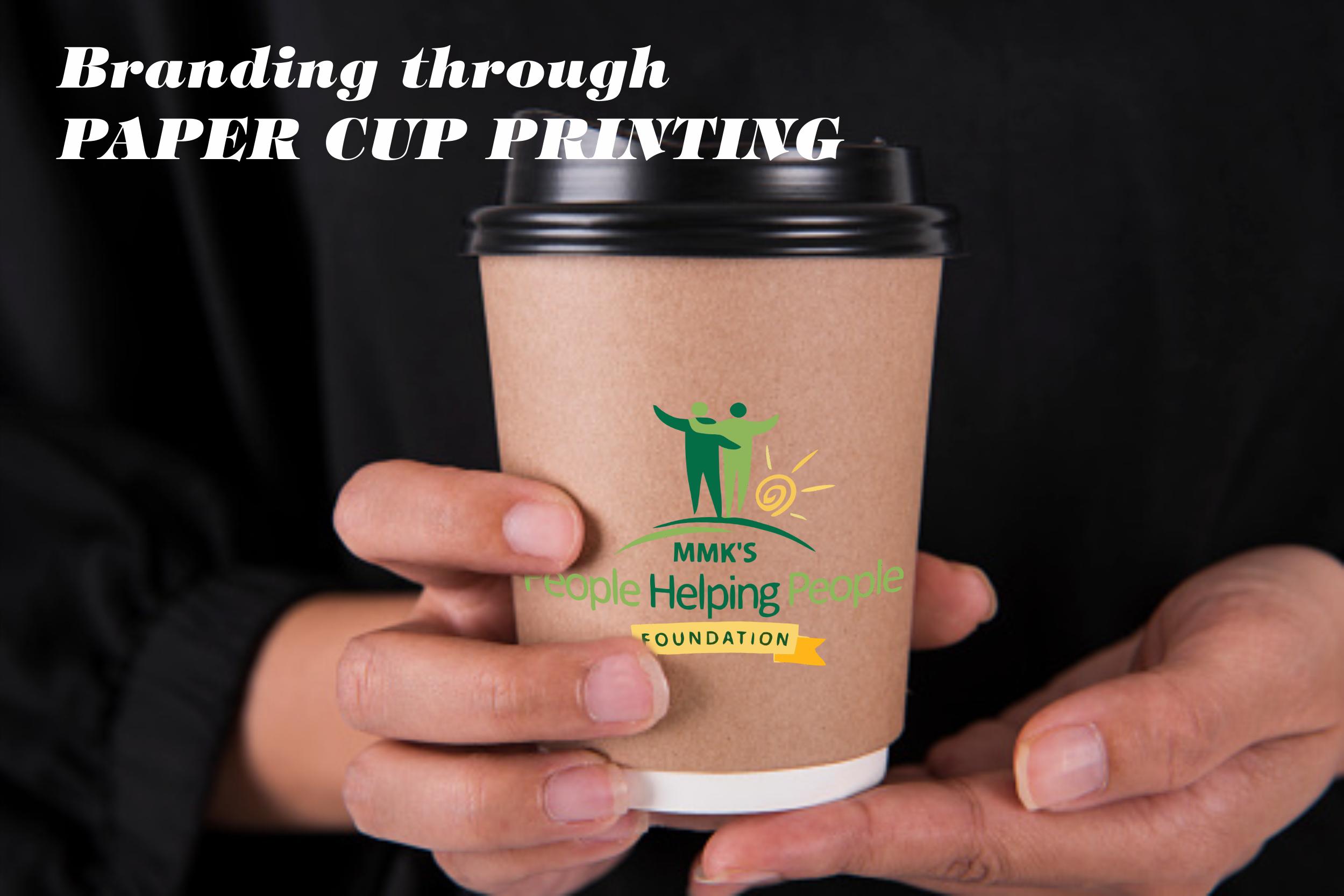 Branding through Paper Cup Printing