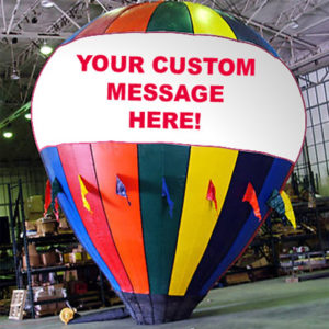 Why Balloon Advertising is effective and inexpensive Branding?