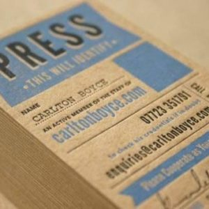 Letterpress printing and its process