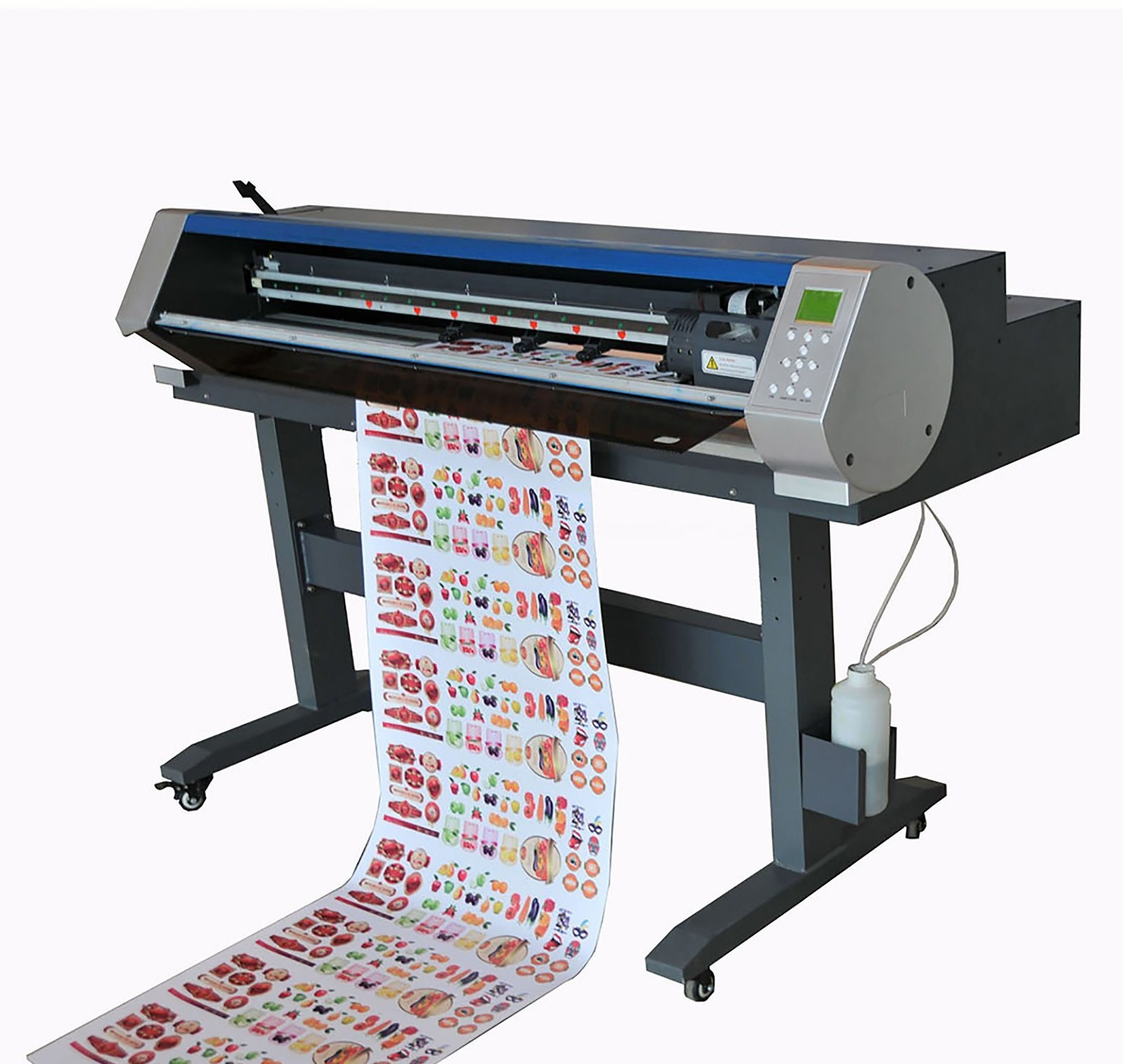 which sticker cutting automatic or manual?